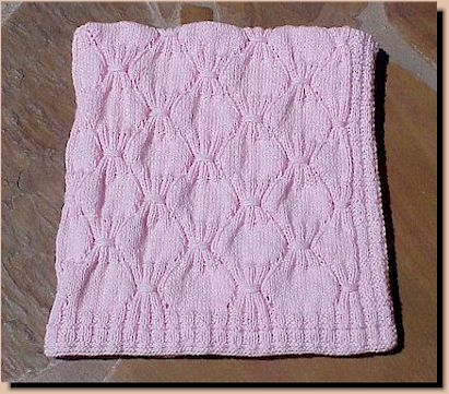 Free Knitting Pattern For Baby Car Seat Blanket : CAR SEAT BLANKET KNIT PATTERN DESIGNS & PATTERNS